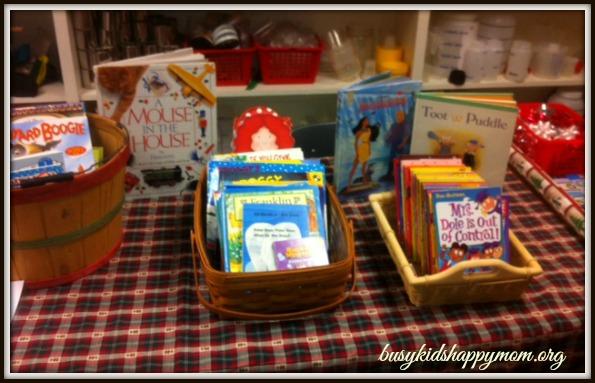 Jingle Bell Book Shop - How to set up a Jingle Bell Book Shop, Kids Giving Books to Kids