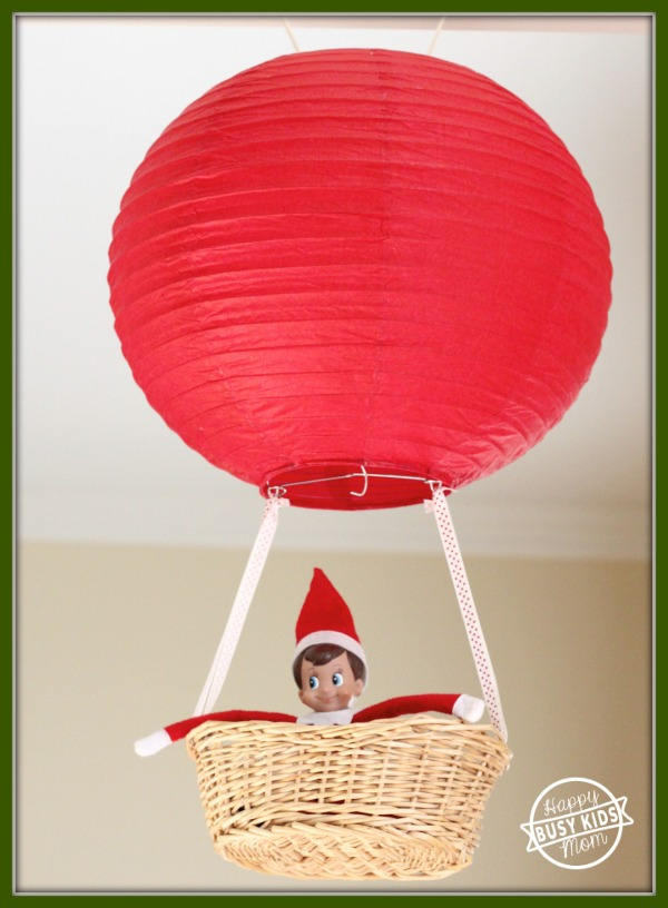 elf on the shelf balloon