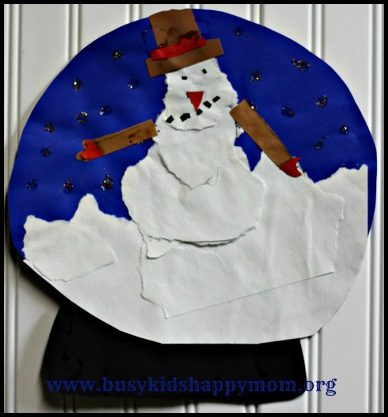 Snow Globe Paper Craft2