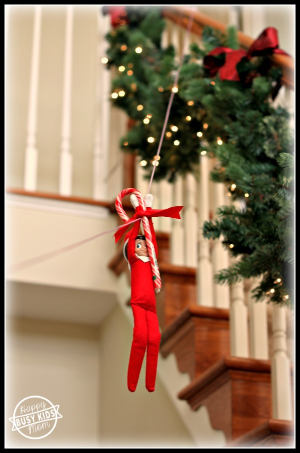 Zip Line - elf on the shelf, No year is complete without a zip-line elf