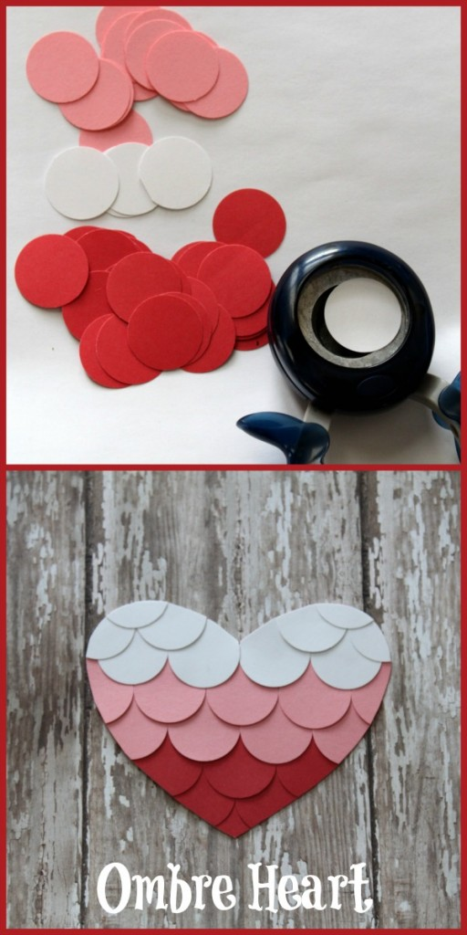 DIY Ombre Heart Tutorial