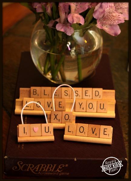 Scrabble Words of Love