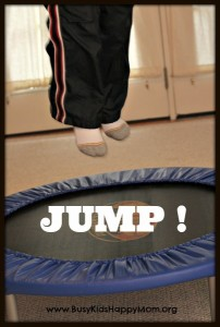 Trampoline Activities for Busy Kids