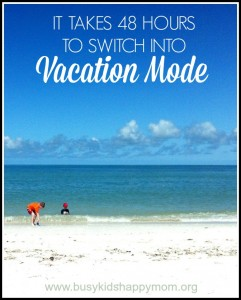 Surviving Vacations with Kids