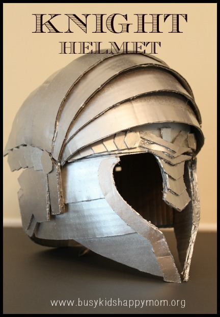 How To Make A Kids Knight Helmet