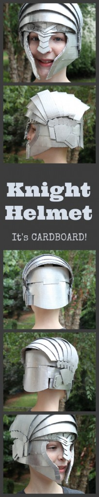 Make Your Own Knight Helmet with Crafteeo