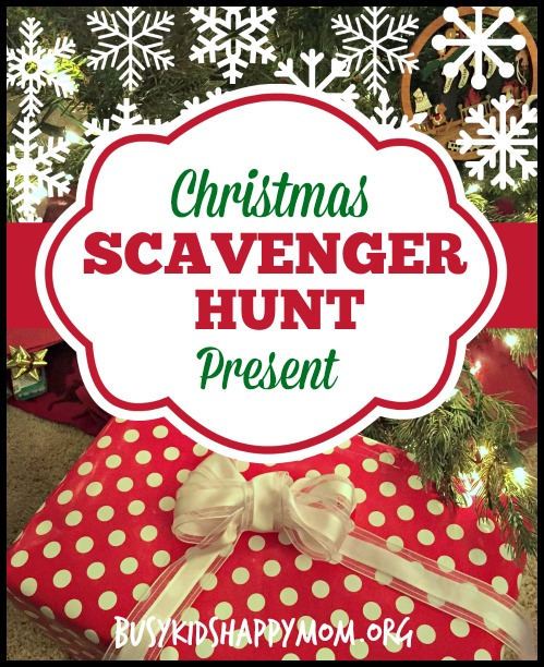 The Secret to Opening Christmas Presents - Christmas Scavenger Hunt