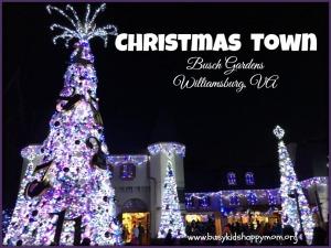 Christmas Town at Busch Gardens Williamsburg, VA