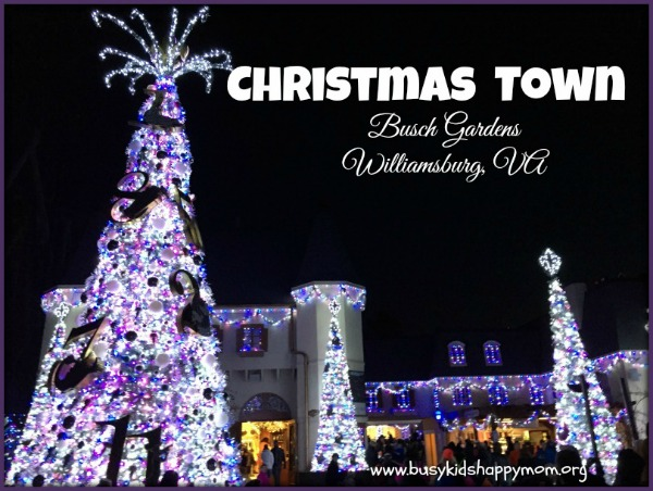 10 Tips for a successful tip to Christmas Town, Busch Gardens, VA.