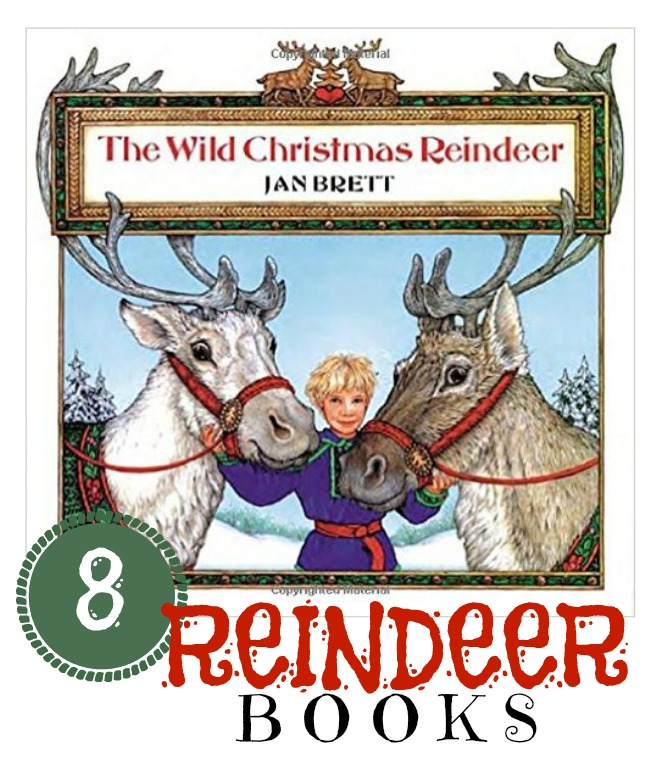 Reindeer Books to read before drawing a reindeer