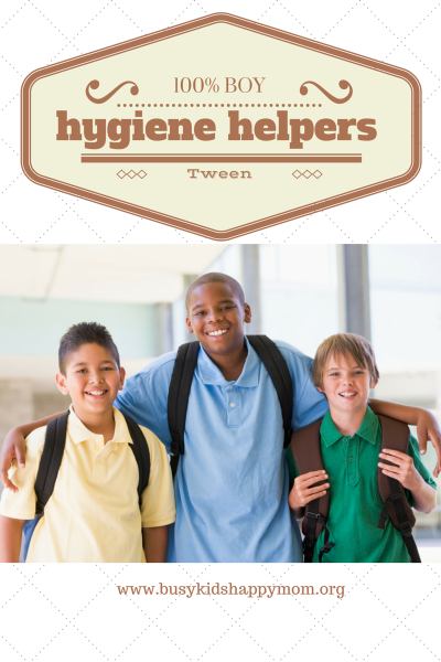 Tween Boy Hygiene