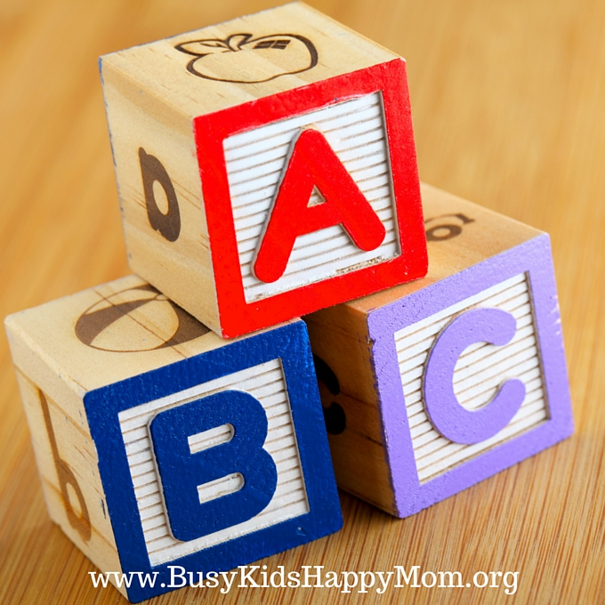 Get your child reading by teaching them their abcs.