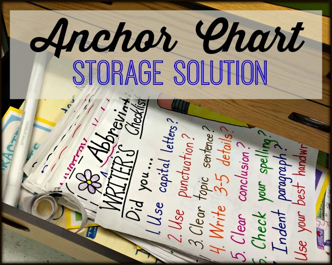 Anchor Chart Storage Solution