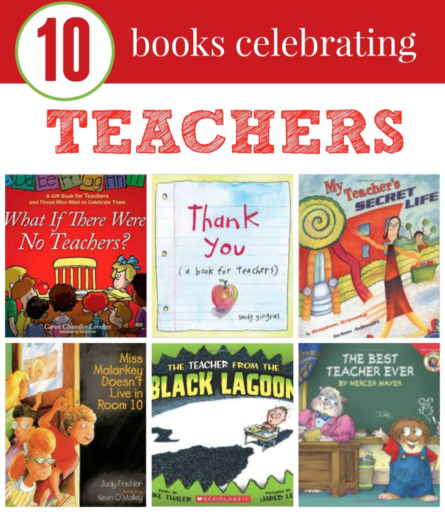 Books that celebrate teachers