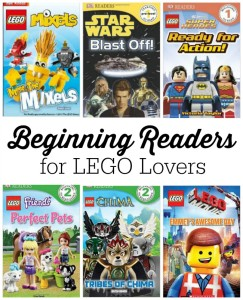 LEGO Books for Beginning Readers