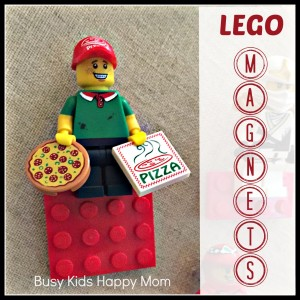 LEGO Magnets You Can Make Yourself