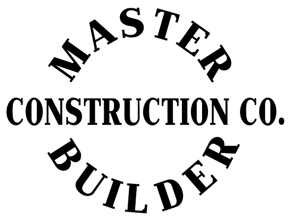 Master Builder Construction Co. Logo for Wooden LEGO box