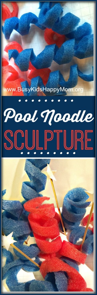 Pool Noodle Sculptures