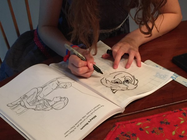 Coloring Pages Sun Catcher.  Simple and Easy.