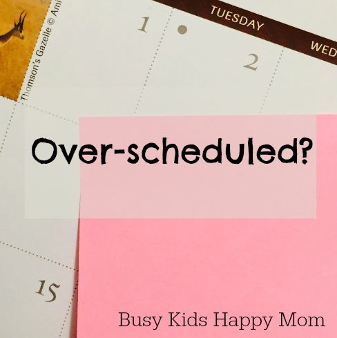over scheduled