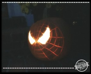 Spider Man Pumpkin
