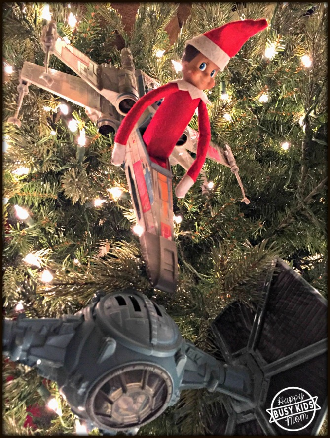 Good Vs. Evil Star Wars Elf on the Shelf