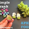 Switch out the chocolate eggs for grapes. Simple April Fools Joke!