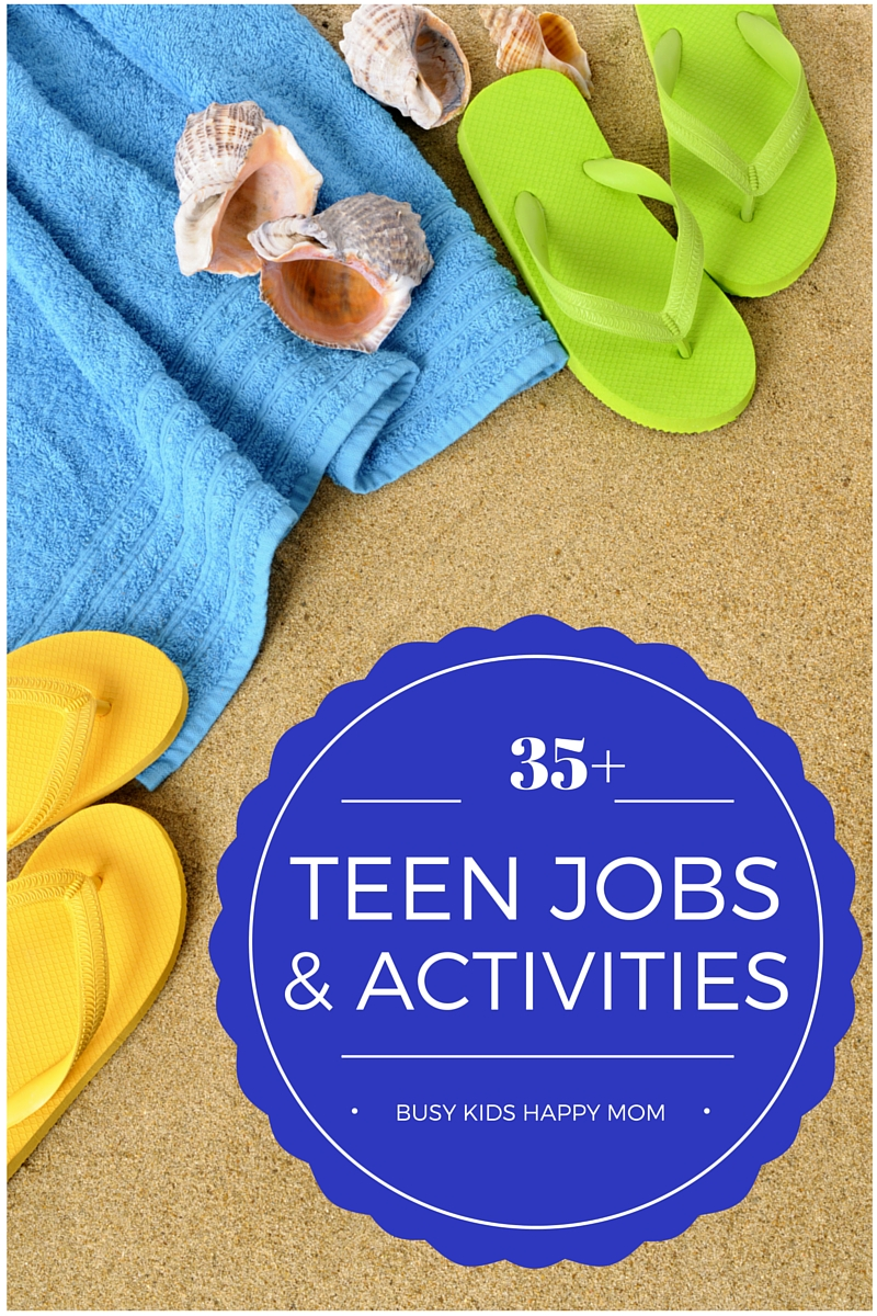 35 teen jobs volunteer work summer projects and learning opportunities