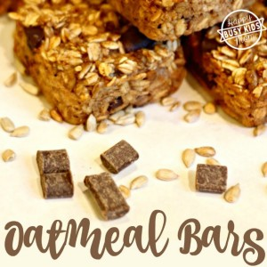 Gluten Free Oatmeal Chocolate Bar Recipe