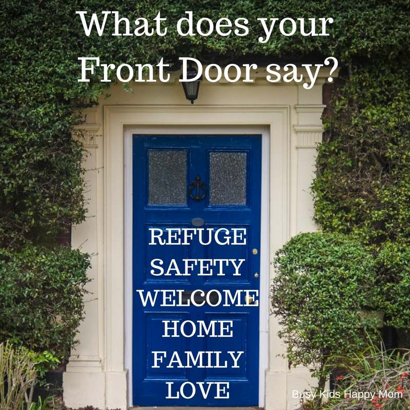 mom meme - what does your front door say?