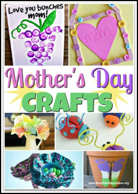 15 Easy Mother S Day Crafts For Kids To Make Busy Kids Happy Mom