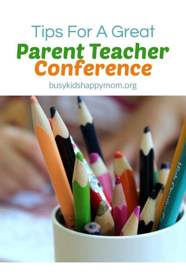 How to have a great parent teacher conference.