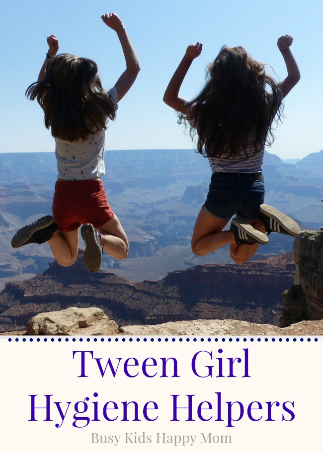 Girls Hygiene - Everything you want to know about good hygiene for tween and teenage girls.